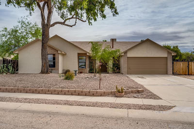Tucson Single Family Home Active Contingent: 9270 N Sea Otter Place