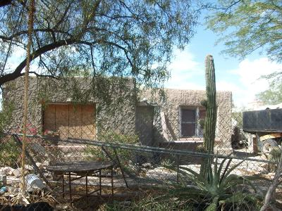 Tucson AZ Single Family Home For Sale: $47,500