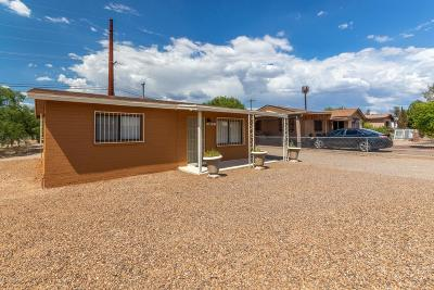 Pima County Single Family Home Active Contingent: 926 W District Street