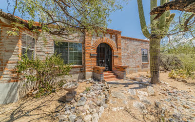 Tucson Single Family Home Active Contingent: 5113 N Soldier Trail