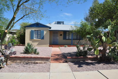Tucson Single Family Home For Sale: 1311 E Edison Street