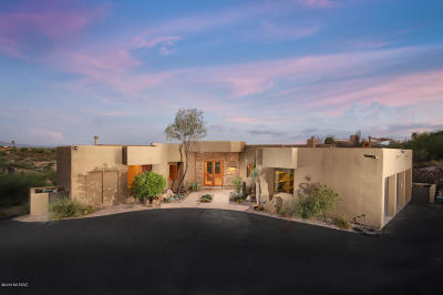 Tucson Single Family Home For Sale: 5275 N Hacienda Del Sol Road