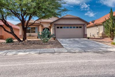 Sierra Vista Single Family Home Active Contingent: 2316 Valley Sage Street