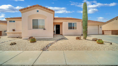 Pima County Single Family Home Active Contingent: 1744 W Circulo De La Pinata