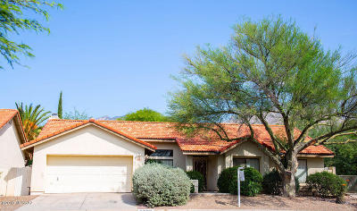 Tucson Single Family Home For Sale: 5495 N Waterfield Drive