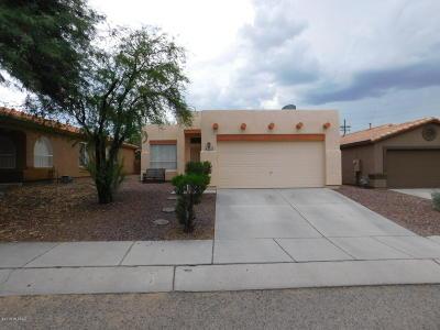 Tucson Single Family Home For Sale: 3553 W Camino De Talia