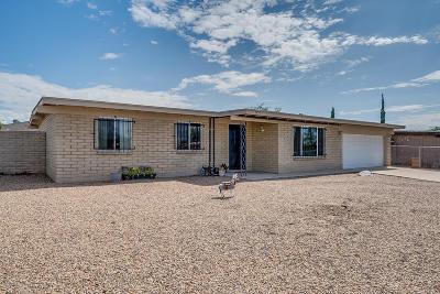 Tucson Single Family Home Active Contingent: 7254 E Desert Palm Drive