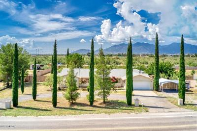 Cochise County Single Family Home For Sale: 3066 E San Xavier Road