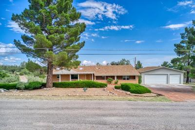 Cochise County Single Family Home For Sale: 3133 E Keeling Road
