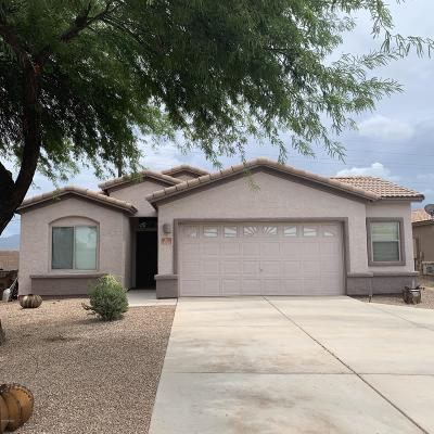 Marana Single Family Home Active Contingent: 11028 W Golden Willow Drive