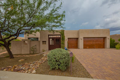 Pima County Single Family Home For Sale: 12502 N Fallen Shadows Drive