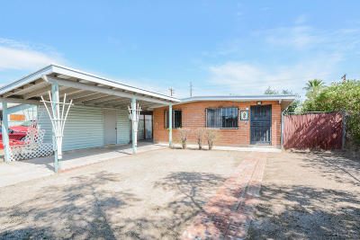 Tucson Single Family Home For Sale: 756 W Vanover Road