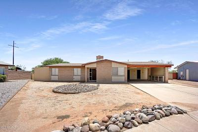 Tucson Single Family Home Active Contingent: 4875 Tahoe Place