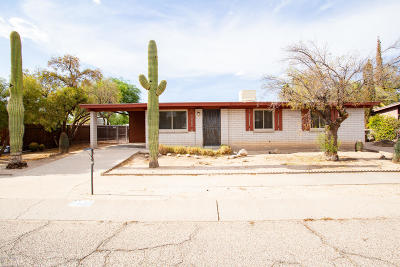 Tucson Single Family Home For Sale: 7427 N Stanton Place