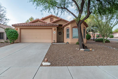 Marana Single Family Home Active Contingent: 5532 W Peaceful Dove Place
