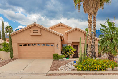 Tucson Single Family Home Active Contingent: 7759 E Windriver Drive
