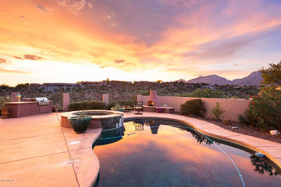 Tucson Single Family Home For Sale: 4407 N Sabino Mountain Drive
