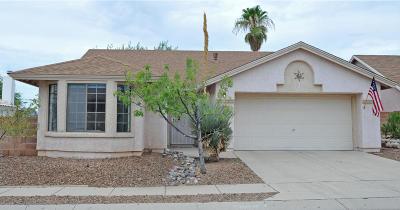 Tucson Single Family Home For Sale: 8991 N Brimstone Way