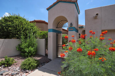 Tucson Townhouse For Sale: 6205 N Pascola Circle