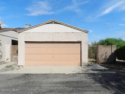 Tucson Townhouse For Sale: 2493 N Palo Hacha Drive
