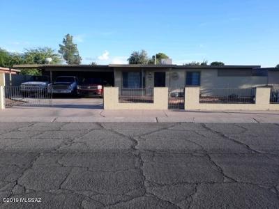 Tucson Single Family Home Active Contingent: 2216 E Nevada Street