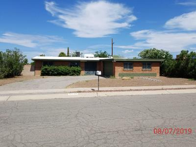 Tucson Single Family Home For Sale: 8539 E Shasta Drive