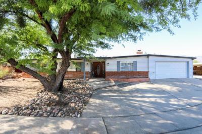 Tucson Single Family Home Active Contingent: 8621 E Fairmount Place