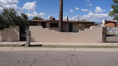 Pima County Single Family Home For Sale: 234 W Santa Maria Street