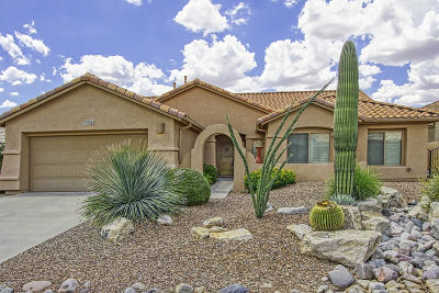 Saddlebrooke Single Family Home For Sale: 37530 S Ocotillo Canyon Drive
