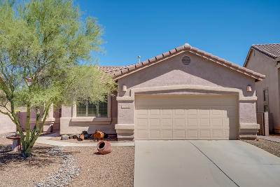 Oro Valley Single Family Home Active Contingent: 2648 E Big View Drive