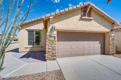 Sahuarita Single Family Home Active Contingent: 516 W Calle Media Luz