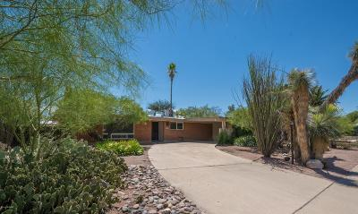 Pima County Single Family Home Active Contingent: 6154 E Adobe Place