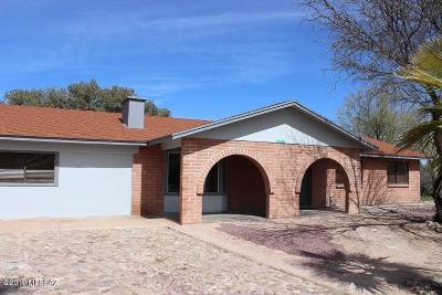 Santa Cruz County Single Family Home For Sale: 1511 E Patagonia Highway