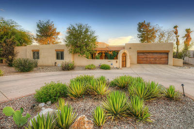 Tucson Single Family Home For Sale: 1760 E Rio De La Loma
