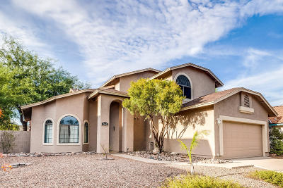 Pima County Single Family Home For Sale: 2640 W Camino Del Venegas