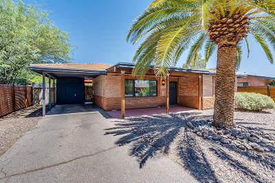 Pima County Single Family Home Active Contingent: 4413 E Burns Street