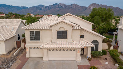 Pima County Single Family Home Active Contingent: 1239 W Sunset Point Place