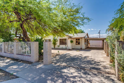 Pima County Single Family Home Active Contingent: 2314 E Eastland Street