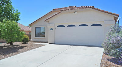 Pima County Single Family Home Active Contingent: 3672 W Flynn Court
