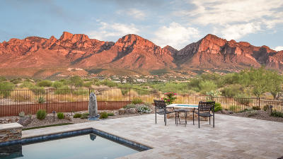 Oro Valley Single Family Home Active Contingent: 854 E Naranja Drive