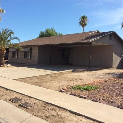 Pima County Single Family Home Active Contingent: 3484 W Marlene Street