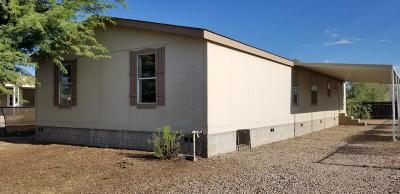 Pima County Manufactured Home For Sale: 3264 W Jusnic Circle