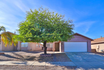 Pima County Single Family Home Active Contingent: 1678 E Saint Apollonia Street