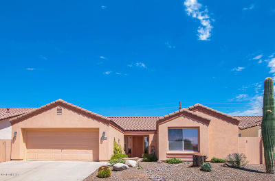 Pima County Single Family Home Active Contingent: 3378 W Desert Bend Loop