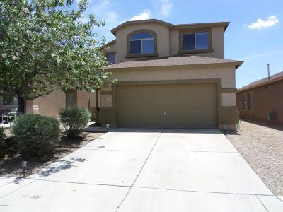 Pima County, Pinal County Single Family Home Active Contingent: 6412 E Sage Stone Street