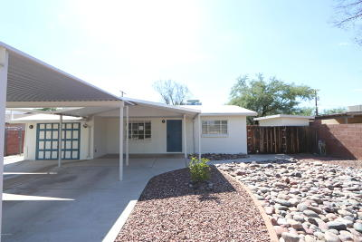 Tucson Single Family Home For Sale: 2649 N Goyette Avenue