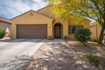 Tucson Single Family Home Active Contingent: 8056 N Circulo El Palmito