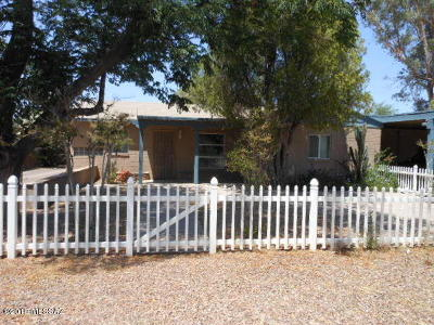 Tucson Single Family Home For Sale: 1027 E Blanton Drive