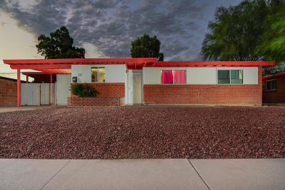 Tucson Single Family Home For Sale: 1272 W McMillan Street