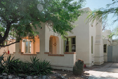 Tucson Single Family Home For Sale: 1024 E 7th Street